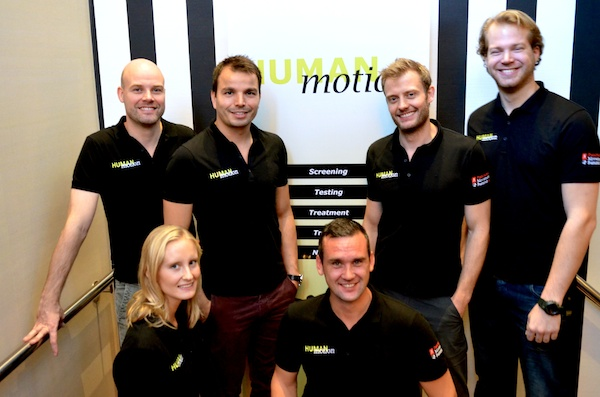 The HumanMotion team
